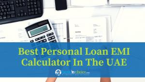 best personal loan EMI calculator in the UAE