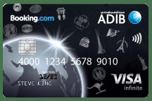 ADIB Booking.com Infinite Card<br>