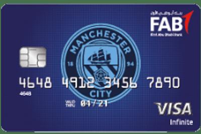 Manchester City FC Infinite Card