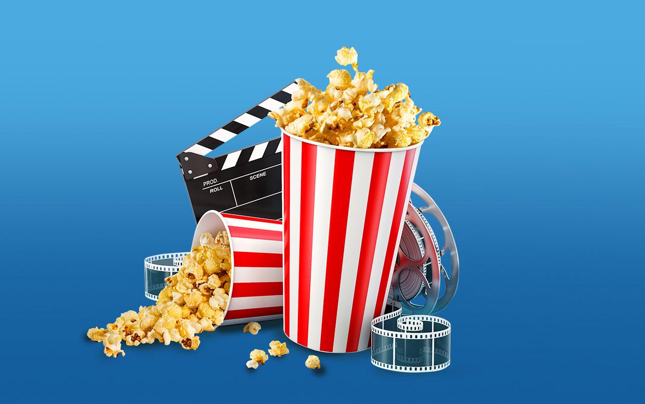 50% discount on movie tickets