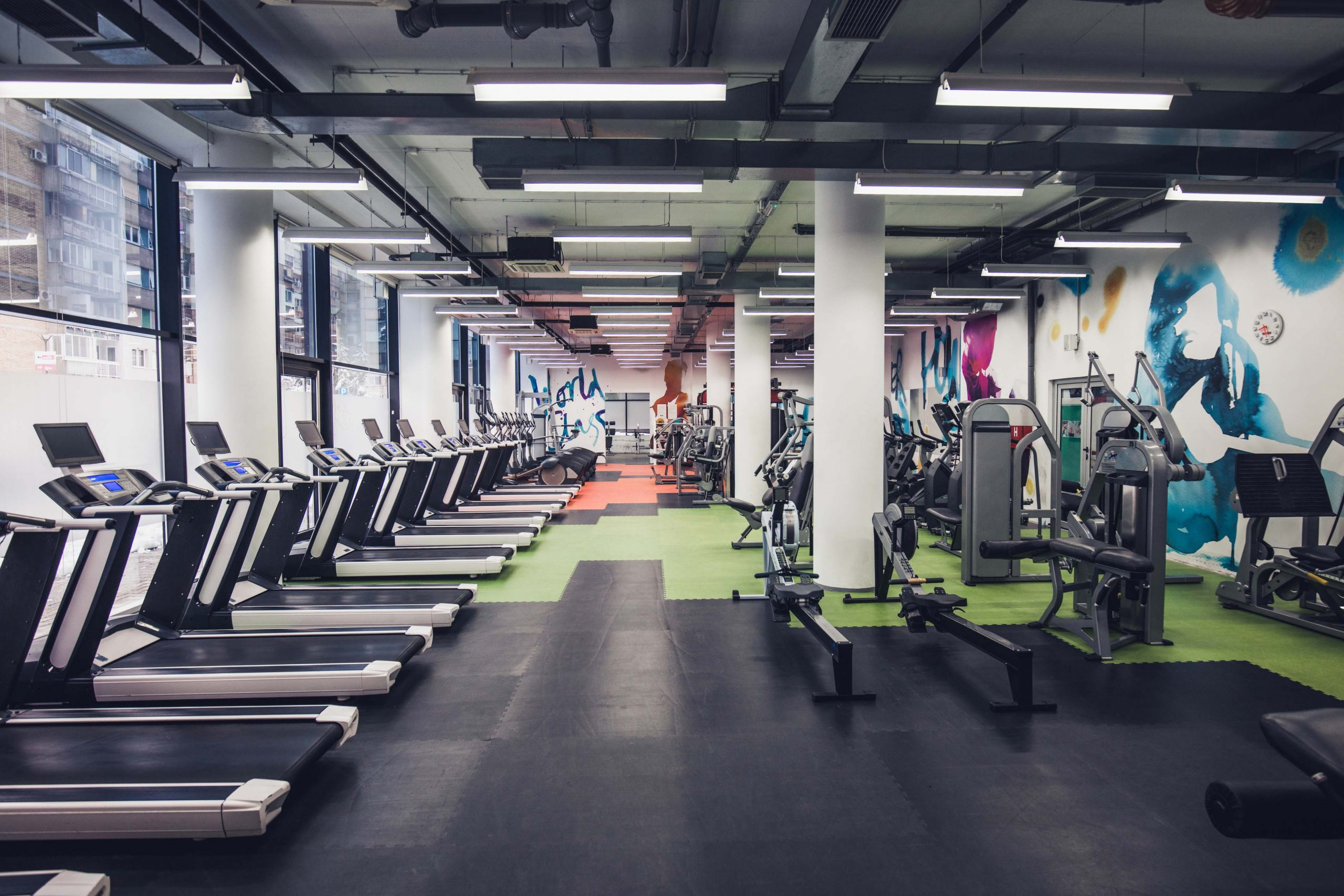 Complimentary visits to Fitness First